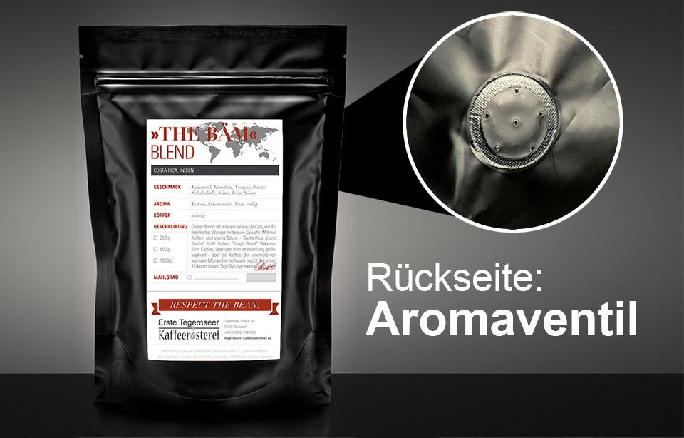 Kaffee-Verpackung-Aroma-Froscheventil