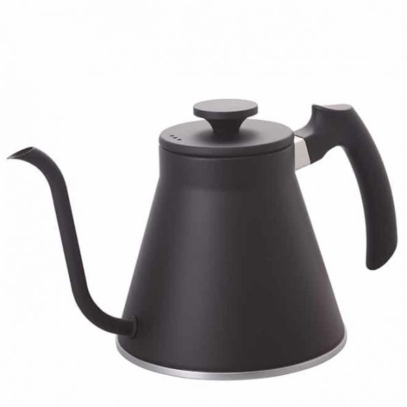 HARIO Wasserkocher V60 Drip Kettle Fit, 800ml, Matte Black