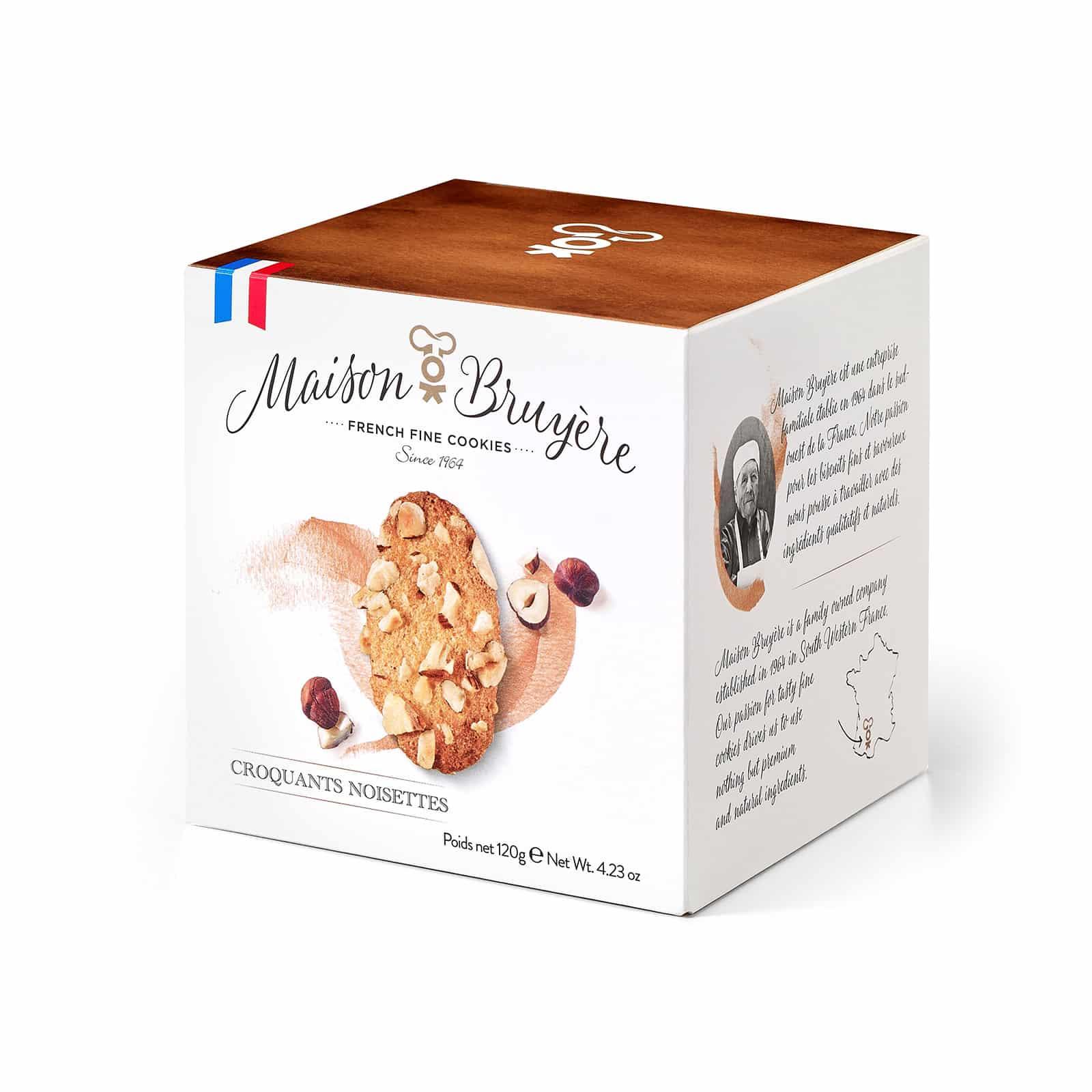 Knusprige Haselnusskekse von Maison Bruyère