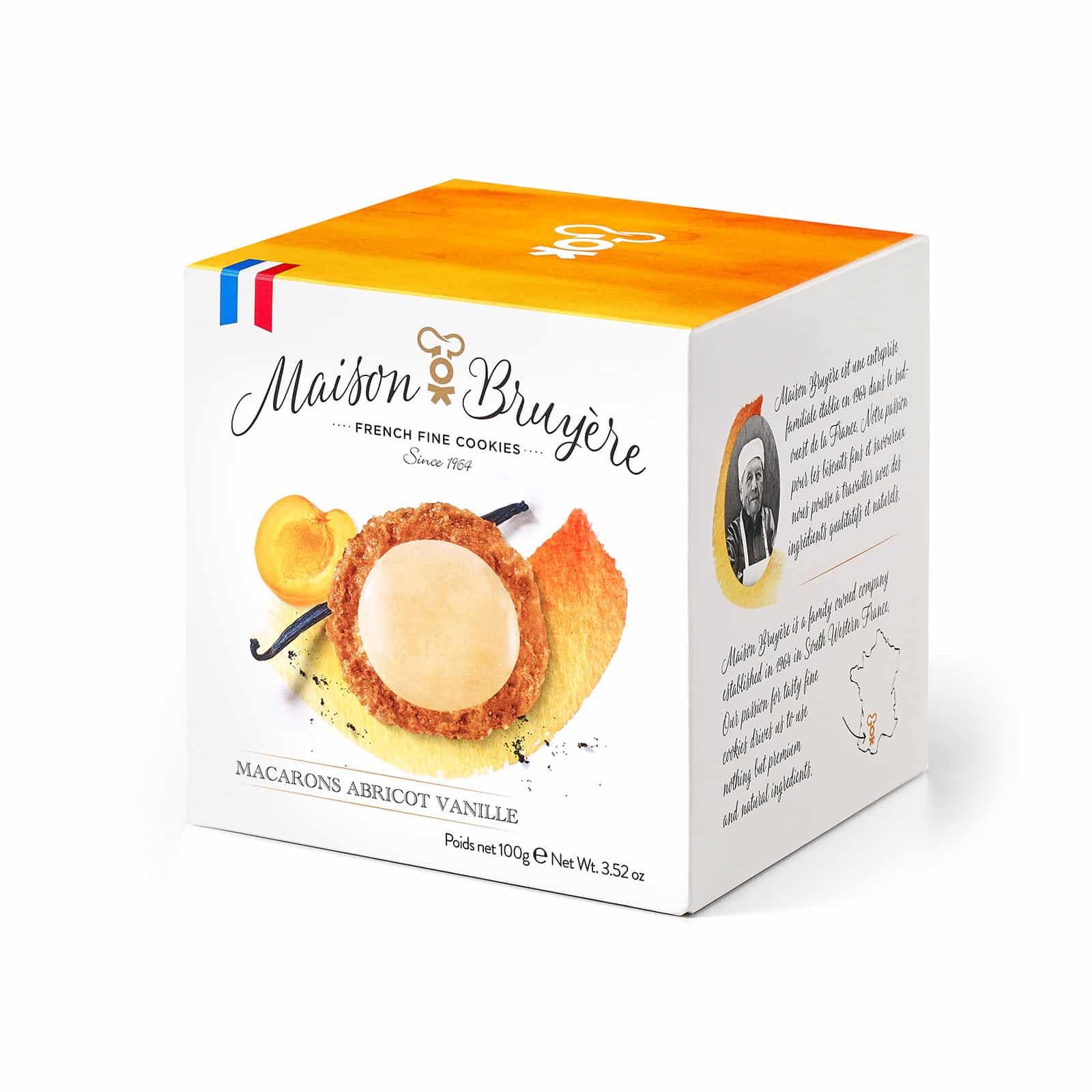 Knusprige Kekse mit Aprikosen-Vanille-Geschmack von Maison Bruyère