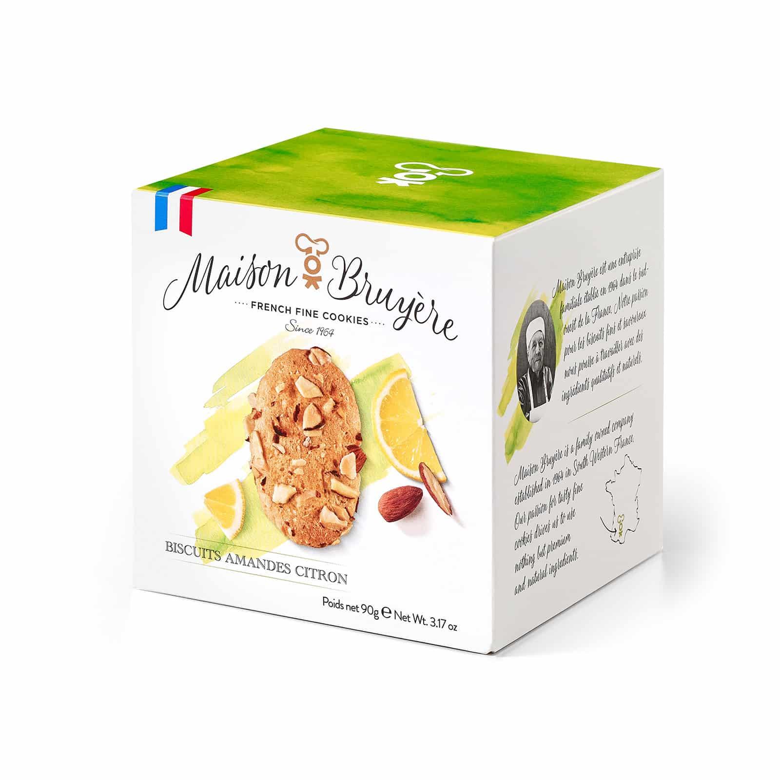 Knusprige Kekse mit Mandeln und Zitrone von Maison Bruyère