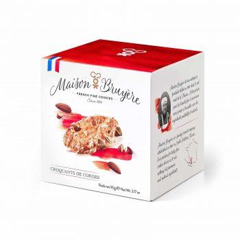Knusprige Puffkekse mit Mandelsplittern von Maison Bruyère