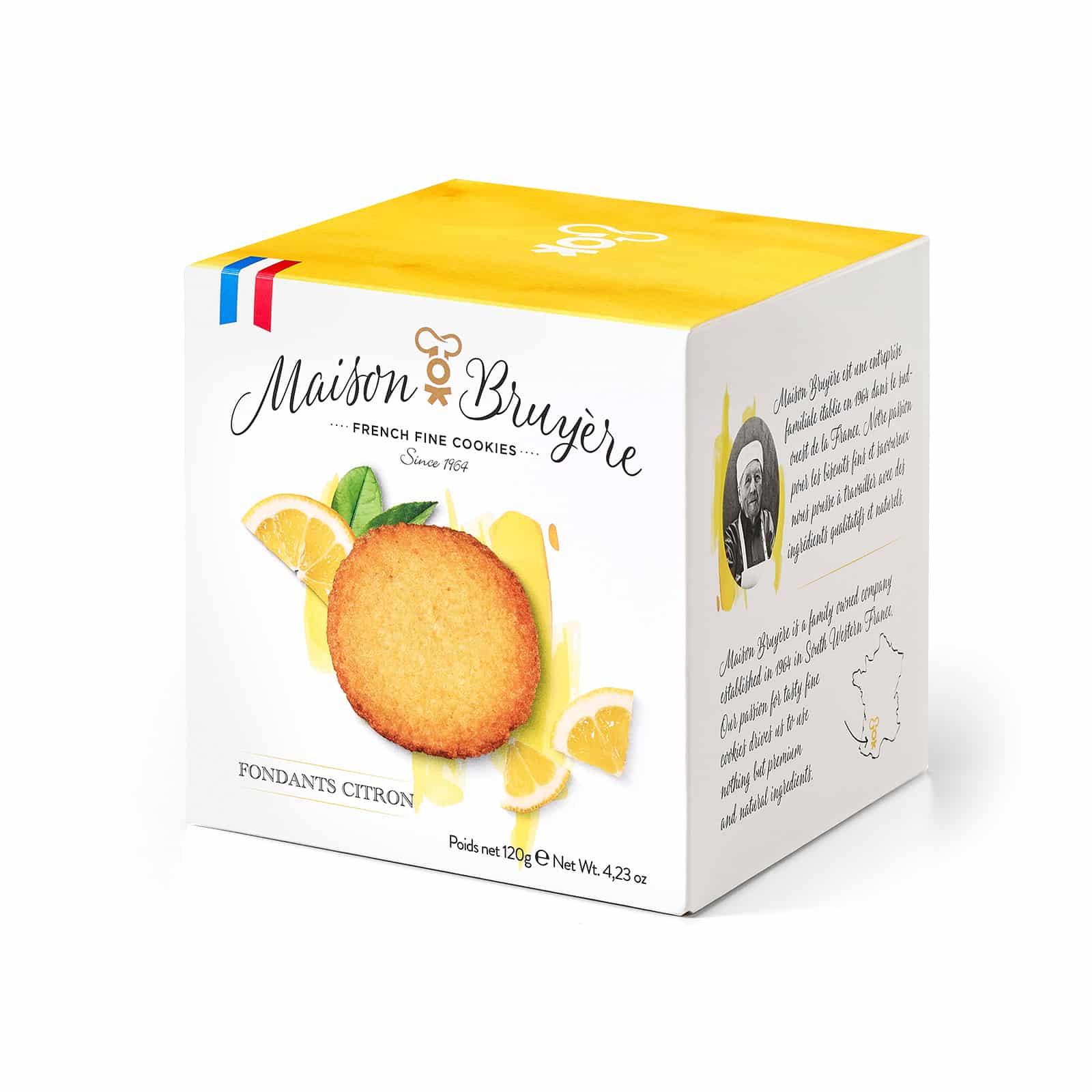 Knusprige Zitronenkekse von Maison Bruyère