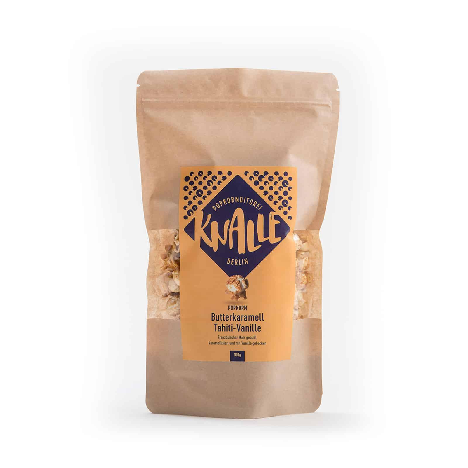 Popcorn mit Butterkaramell und Tahiti-Vanille