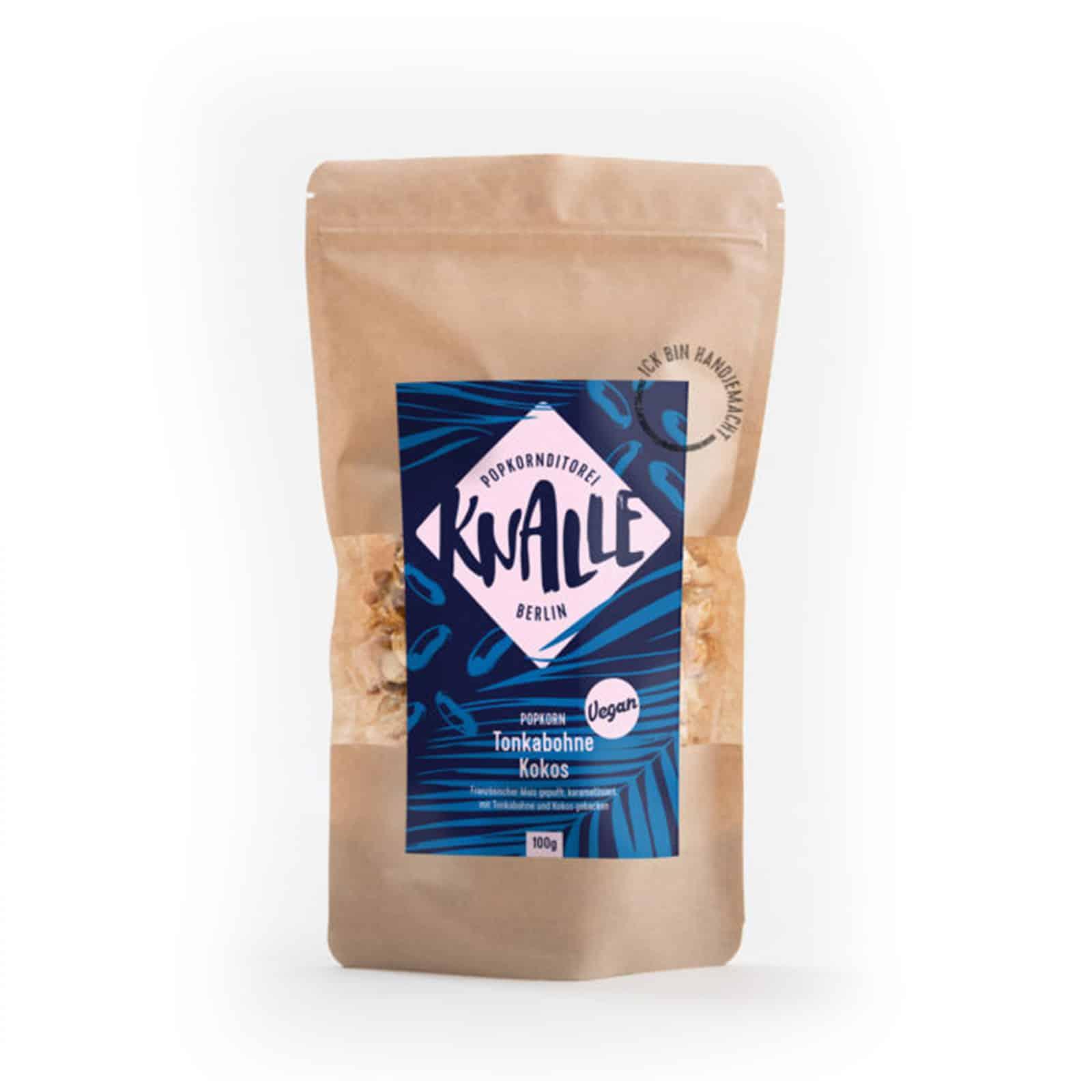 Tonkabohne-Kokos-Popcorn