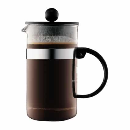 Bodum Kaffeebereiter, 3 Tassen, 0.35 l, BISTRO NOUVEAU, Schwarz